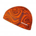 Spokey TRACE Plavecká čepice nylon oranžová