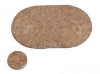 prostírání kruh 10cm hladký korek (6ks)