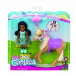 Barbie Chelsea s  poníkem