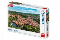 Puzzle Český Krumlov dron 1000 dílků 66x47cm