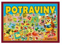Potraviny 4 logické hry společenská hra