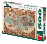 Mapa světa z roku 1626 500D