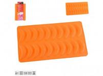 forma na rohlíčky 20ks 35,5x22x1,2cm silikon