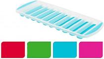 forma na led tyčky (10x) 29,5x11,5x2cm plastová / silikon - mix barev
