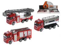Auto hasiči kov 12 cm volný chod - mix variant či barev
