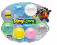 PlayFoam Modelína/Plastelína kuličková s doplňky 7 barev na kartě