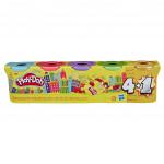 Play-Doh Stříbrné/Zlaté balení 5ks - mix variant či barev