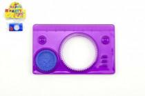 Inspiro mini plast 9x5,5cm - mix barev