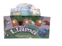 Alpaka líhnoucí a rostoucí ve vajíčku JUMBO 11 cm - mix variant či barev