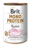 Brit Dog konz Mono  Protein Rabbit 400g