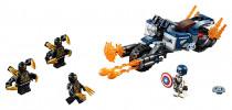 Lego Super Heroes 76123 Captain America: útok Outriderů