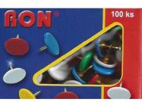 připínáček 224 barevná hlava (100ks)