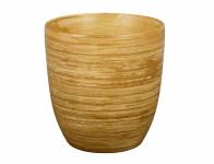 Obal na květník KODET TEAK keramický matný d20x21cm