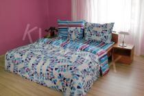 Povlečení bavlna Draci pruhy modré 140 x 200 cm, Kvalitex