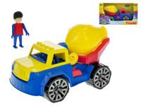 Auto stavební míchačka s panáčkem