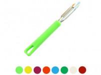 škrabka L nerez 17cm, plastová rukojeť - mix barev