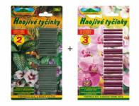 Hnojivo tyčinkové: univerzální 50ks+ na orchideje 20ks
