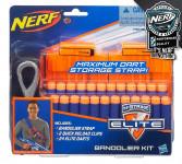 NERF Elite 2 náhradní zásobníky s popruhem a 24 šipkami