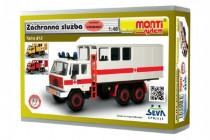 Stavebnice Monti 12.3 Tatra 815 Ambulance Záchranná služba 1:48