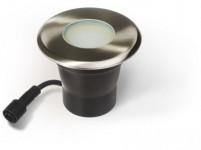 svítidlo LED pochozí pr.11cm, 1xGU10/4W/280lm/3000K, IP67 teplé, d