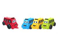 Autobus veselý 26 cm - mix barev