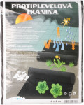 Tkaná textilie 90g - 1 x 5 m černá