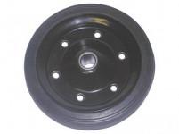 kolečko 220/30mm KL plné kov. disk