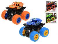 Monster truck 9 cm kov na setrvačník - mix barev