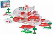 Garáž + dráha Kid Cars 3D Nemocnice plast 4,8m 12m+ Wader