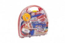 Sada doktor plast 9ks v plastovém kufříků