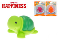 Zvířátko 7 cm svítící do vody na baterie Baby\'s Happiness - mix variant či barev