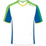 Spokey Fotbalové triko bílo-zelené vel. XXL