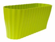 Truhlík TRIOLA ORCHID plastový světle zelený 38cm