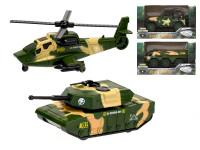Vozidlo vojenské 14 cm kov na volný chod - mix variant či barev