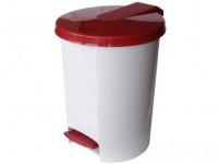 koš odpadkový nášlapný VOX 10l kulatý s vložkou, plastový - mix barev
