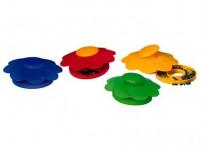 past na slimáky plastová (4ks) - mix barev