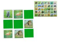 Pexeso ZOO 64 karet reálná zvířátka