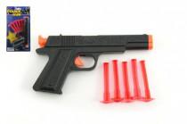 Pistole na přísavky plast 16 cm