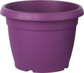 Květináč Similcotto broušený - fialový 25 cm