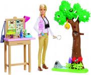 Barbie entomoložka National Geographic herní set