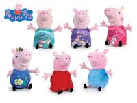 Peppa Pig - Pepina/George plyšoví 20 cm - mix variant či barev
