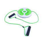 Spokey WILD TWIST V Twister s posilovací gumou limetkově zelený