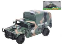 Auto vojenské 13 cm na setrvačník - mix variant či barev