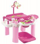 Nursery velké přebalovací centrum s židličkou a vaničkou pro panenky