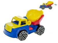 Auto stavební míchačka