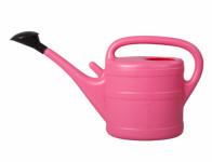 Konev s růžicí plastová růžová 10l