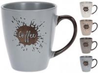 hrnek 200ml COFFEE keramický - mix barev