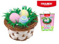 Paulinda Happy Easter 1x5 g + 2x8 g vajíčka s košíkem a doplňky