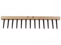 hřeben dřevěný 13 kolíků plastových, d.49cm