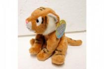Tygr sedící plyš 15cm